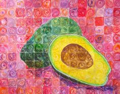 """Chuck Close inspired art lesson- """"portraits of food"""" - Art Education ideas Chuck Close Art, Art History Lessons, History Projects, 7th Grade Art, Middle School Art Projects, School Painting, Art Lessons Elementary, Art Lesson Plans, Art Classroom"""