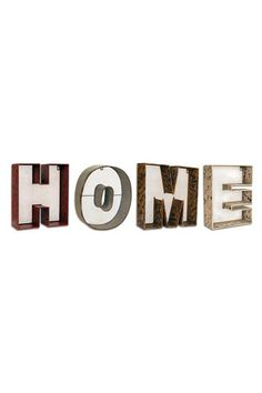 Home Metal Wall Letters by Iron Trade Imports on @HauteLook