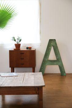 Marquee letter diy | Allihoppa