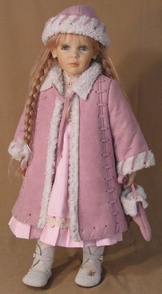 Sonia by doll artist Zofia Zawieruszynski