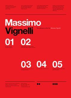Massimo Vignelli - design