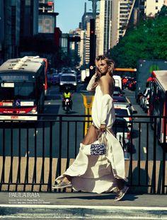 conexao fashion: caroline trentini by fabio bartelt for vogue brazil september 2012 | visual optimism; fashion editorials, shows, campaigns & more!