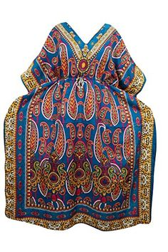 Mogul Interior Kimono Caftan Dresses Blue Paisley Print B... https://www.amazon.co.uk/dp/B01MT59MXP/ref=cm_sw_r_pi_dp_x_2AUKybC33DAFA