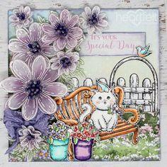 -7128 Heartfelt Creations Stamp /& Die Combo WILDWOOD COTTAGE ACCENTS~ 3772