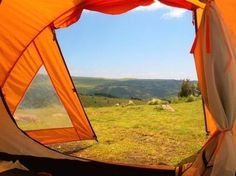 Шикарные виды из палаток