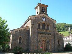 Asturias Iglesia de Santa Eulalia de Ujo