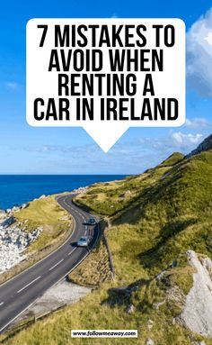 ireland travel When renting a car in Ireland, make sure to avoid these common mistakes! An Ireland car hire will be the best decision you make, but beware! Ireland Travel Guide, Italy Travel Tips, Travel Europe, European Travel, Places To Travel, Travel Destinations, Places To Visit, Driving In Ireland, Wild Atlantic Way