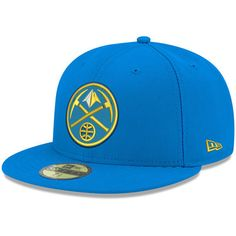 reputable site ddd24 217b4 Men s New Era Blue Denver Nuggets Official Team Color 59FIFTY Fitted Hat. New  Era FittedNba StoreChristmas SaleCaps ...