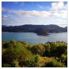 30.12.2013 - One Tree Hill, Hamilton Island. The view from my last run of 2013.