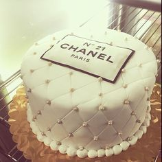 chanel cake birthday