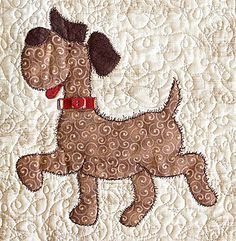 36 ideas embroidery patterns tree baby mom for 2019 Dog Quilts, Cat Quilt, Animal Quilts, Mini Quilts, Baby Quilts, Applique Templates, Applique Patterns, Applique Quilts, Embroidery Applique