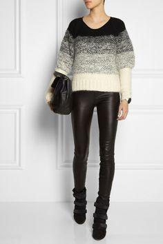 Maiyet| Degradé chunky-knit mohair-blend sweater|NET-A-PORTER.COM