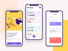 Meeting Scheduler designed by Valerya Nasikan for UGEM. Connect with them on Dribbble; the global community for designers and creative professionals. Web Design, App Ui Design, User Interface Design, Flat Design, Graphic Design, Design Layouts, Apps, Kickoff Meeting, Team Calendar