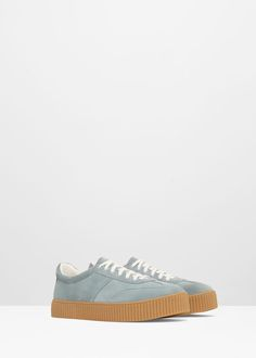 Lace-up sneakers - Shoes for Women   MANGO USA