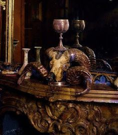 Dracula Castle, Stage Set, Old World Charm, Interior Design, Antiques, Inspirational, Painting, Brown Sugar, Skulls