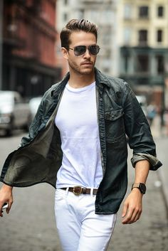 White pants #menswear menswear, men's fashion and style