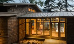 Design Hub - блог о дизайне интерьера и архитектуре: Дом на берегу озера