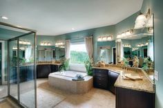 Schumacher Homes Sonoma Bathroom by Schumacher Homes, via Flickr