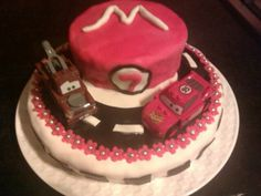 Cars taart voor Marit - cars pie