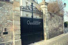 Restauration portail en fer forgé avec différentes adaptation - restauration dans notre atelier (41)