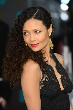 BAFTAs 2013 Red Carpet - Thandie Newton