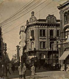 Rua dos Andradas X Rua da Ladeira. Porto Alegre. 1930
