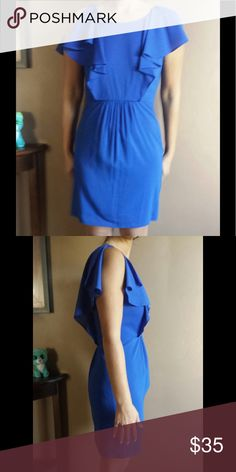 Chequer blue dress Really cute! Only worn once chequer Dresses