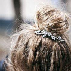 #cheveux #hair #coiffure #chignon