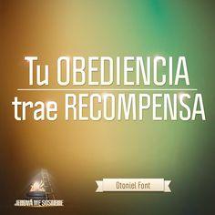Jehová Me Sostiene - Tu obediencia a Dios y su Palabra, te traen recompensa. #MaratónicaEnlace
