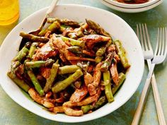 Asparagus and Chicken Stir-fry Recipe | Food Network Kitchen | Food Network