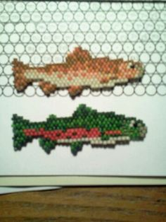 Beaded fish. For pricing and special order information, email seyasclan@gmail.com.