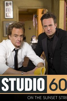 josh lyman stars as danny trip in the pilot of studio 60 on the sunset strip, LOL this is totally not the lightened hair-lightened-attitude -danny from episode 2 and beyond. matthew perry and bradley whitford Charlie Wilson's War, Tamala Jones, Bradley Whitford, Studio 60, John Oliver, Matthew Perry, How To Lighten Hair, Sunset Strip, Jon Stewart