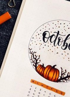 halloween bullet journal If you're chaning your bullet journal theme this Fall, then you need to check out these wonderful spread ideas for inspiration to get started! August Bullet Journal Cover, Monthly Bullet Journal Layout, Bullet Journal Cover Ideas, Bullet Journal Notes, Bullet Journal Aesthetic, Bullet Journal Ideas Pages, Bullet Journal Spread, Bullet Journal Inspiration, Journal Covers