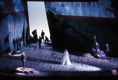 Das Verratene Meer. San Francisco Opera. Scenic design by Paul Steinberg. 1991