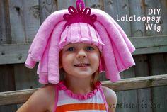 DIY #Lalaloopsy Wig from @Von Everett Inspired
