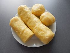 Bramborové knedlíky Bread Dumplings, Sweet Potato, Potatoes, Vegetables, Cooking, Ethnic Recipes, Casseroles, Cuisine, Kitchen