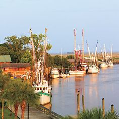 Coastal Road Trip | Scenic Highway 17 Georgia—Iconic Savannah and St. Simons Island, Historic Darien.