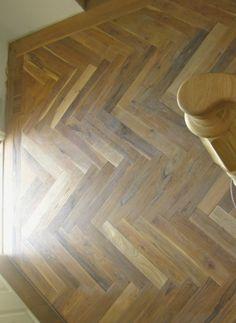 herringbone hardwood flooring