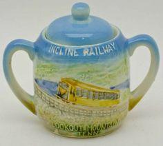 shopgoodwill.com: Vintage Ceramic Incline Railway Sugar Bowl