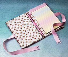 Cute easy notepad holder  #FaveCrafts