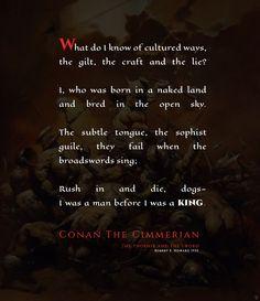 Conan cimmerian quotes