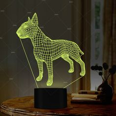 PET Addiction small dog design illusion LED Table Lamps Novelty lighting as presents from the dog Nursery Decor, Bedroom Decor, Best Night Light, Novelty Lighting, Buy Pets, Kids Lighting, Optical Illusions, Dog Design, Small Dogs