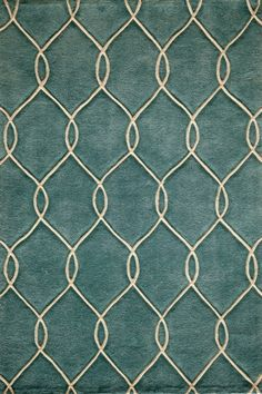 Momeni Bliss BS-12 Teal Area Rugs