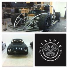 Kitzkrieg 356 Coupe Kit | Porsche 356 Coupe Replica Kit | Body ...