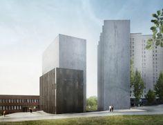 petra gipp arkitektur ab ::: riksarkivet marieberg – tillbyggnad och bostäder