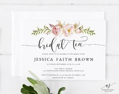 Items similar to Poney Tea Party Bridal Shower Invitation, Bridal Tea Shower Invitation, Rustic Floral Bridal Shower, Bridal Tea Invite, on Etsy Lounge Party, Tea Party, Bridal Tea Invitations, Bridal Boxes, Box Design, Peonies, Rsvp, Bridal Shower, Place Card Holders