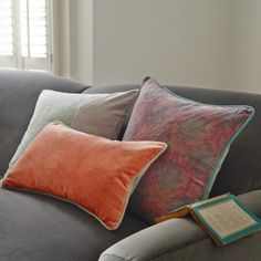 Velvet Cushions - Cushions & Throws - Home Accents