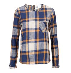 LEON & HARPER Long Sleeve Blouse Cairo Bleu BACK IN STOCK  http://www.9straatjesonline.com/nl/long-sleeve-blouse-cairo-bleu.html