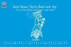 Todo tiene un inicio... #calendario #huichol #peyote