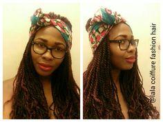 Idée coiffure foulard